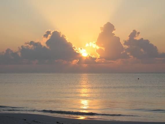 Photo Copyright Elliot Lozano 'Mayan Sunrise' Riviera Maya, Yucatan Peninsula Mexico