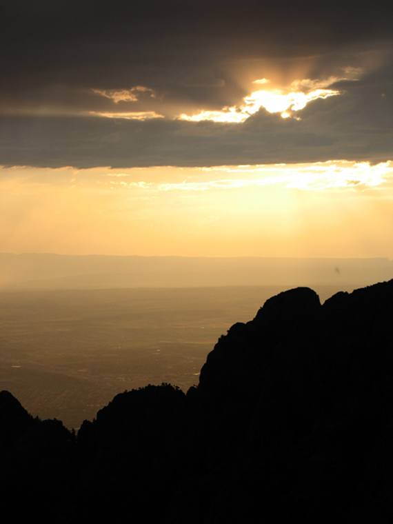 Photo Copyright Terrah Lozano 'Sandia Silhouette' Sandia Mountains, NM USA