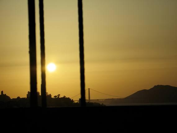 Photo Copyright Terrah Lozano 'Sun Over Golden Gate' San Francisco, CA USA